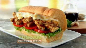Subway Tuscan Chicken Melt TV Spot, 'Fall In Love' - 833 commercial airings