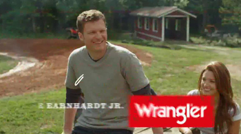 Wrangler U-Shaped Jeans TV Spot Featuring Dale Earnhardt, Jr. - Thumbnail 1