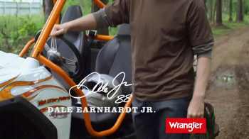 Wrangler U-Shaped Jeans TV Spot Featuring Dale Earnhardt, Jr. - Thumbnail 2