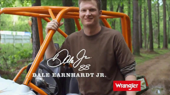 Wrangler U-Shaped Jeans TV Spot Featuring Dale Earnhardt, Jr.