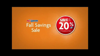 PetSmart Fall Savings Sale TV Spot, 'Get in on the Fun' - Thumbnail 5