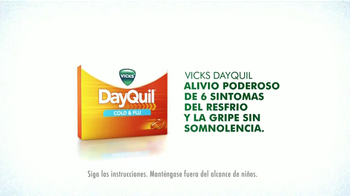 Vicks Dayquil TV Spot Con Drew Brees [Spanish] - Thumbnail 6