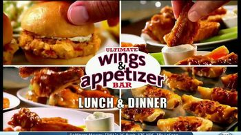 Golden Corral TV Spot, 'Wing and Appetizer Bar'