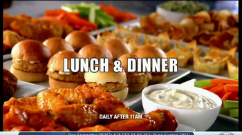 Golden Corral TV Spot, 'Wing and Appetizer Bar' - Thumbnail 10