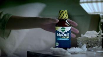 Vicks NyQuil Severe TV Spot, 'Tissues' - Thumbnail 2