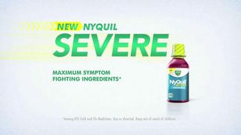 Vicks NyQuil Severe TV Spot, 'Tissues' - Thumbnail 6