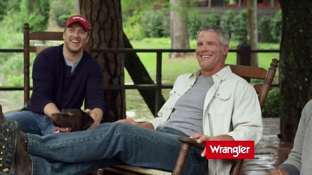 d7b48ec7 Wrangler Five-Star Premium Jeans TV Commercial Featuring Dale Earnhardt,  Jr. - iSpot.tv