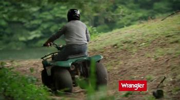 Wrangler Five-Star Premium Jeans TV Spot Featuring Dale Earnhardt, Jr. - Thumbnail 2