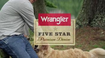 Wrangler Five-Star Premium Jeans TV Spot Featuring Dale Earnhardt, Jr. - Thumbnail 5