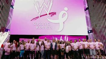 Susan G. Komen for the Cure TV Spot Featuring John Cena, Alicia Fox, Layla - 3 commercial airings