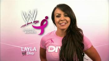Susan G. Komen for the Cure TV Spot Featuring John Cena, Alicia Fox, Layla - Thumbnail 3