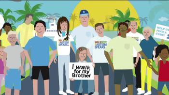 Autism Speaks Inc. Walk Day TV Spot Featuring Felix Hernandez