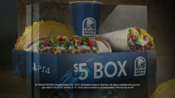 Taco Bell $5 Box TV Spot, 'PlayStation 4' - Thumbnail 10