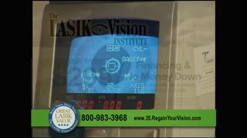 The LASIK Vision Institute TV Spot, '$299' - Thumbnail 1