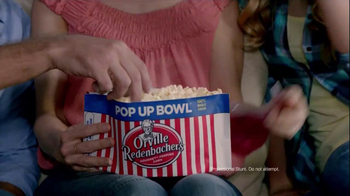 Orville Redenbacher's Pop Up Bowl TV Spot, 'Orville Moment: Movie' - Thumbnail 9