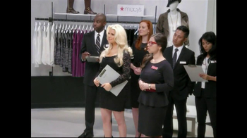 Macy's TV Spot Featuring Jessica Simpson - Thumbnail 4