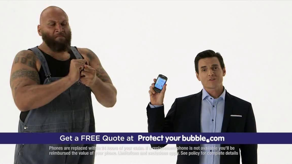 Protect Your Bubble TV Commercial, 'Smart Phone'