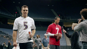 McDonald's Mighty Wings TV Spot Featuring Colin Kaepernick, Joe Flacco