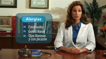 Claritin TV Spot Con Ana Patricia González [Spanish] - Thumbnail 4