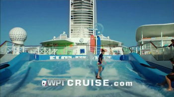 WPT Cruise TV Spot Featuring Mike Sexton and Vince Van Patten - Thumbnail 6