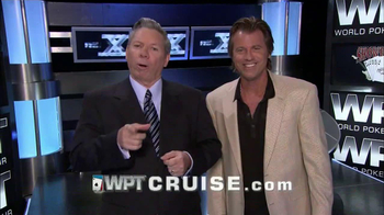 WPT Cruise TV Spot Featuring Mike Sexton and Vince Van Patten - Thumbnail 7