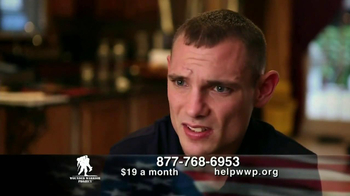 Wounded Warrior Project TV Spot Featuring Trace Atkins - 285 commercial airings