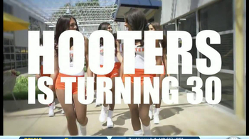 Hooters 30 Year Anniversary TV Spot - 80 commercial airings