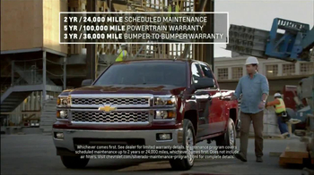 Chevrolet Silverado TV Spot, 'Job Site' - Thumbnail 5