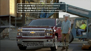 Chevrolet Silverado TV Spot, 'Job Site' - Thumbnail 6