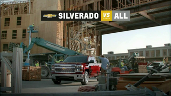 Chevrolet Silverado TV Spot, 'Job Site' - Thumbnail 8