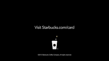 Starbucks Loyalty Program TV Spot, 'Gift Card' - Thumbnail 4