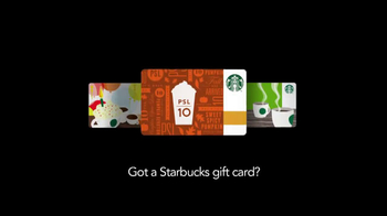 Starbucks Loyalty Program TV Spot, 'Gift Card' - Thumbnail 1