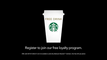 Starbucks Loyalty Program TV Spot, 'Gift Card' - Thumbnail 3