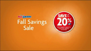 PetSmart Fall Savings Sale TV Spot, 'New Pet' - Thumbnail 6