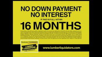 Lumber Liquidators Warehouse Clearance Sale TV Spot - Thumbnail 9