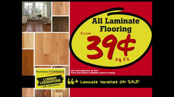 Lumber Liquidators Warehouse Clearance Sale TV Spot - Thumbnail 4