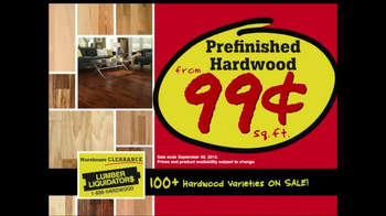Lumber Liquidators Warehouse Clearance Sale TV Spot - Thumbnail 5