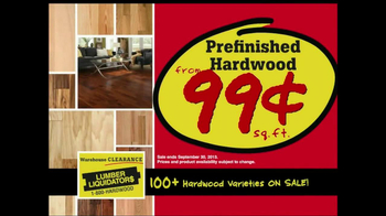 Lumber Liquidators Warehouse Clearance Sale TV Spot - Thumbnail 6