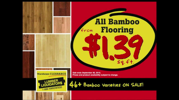 Lumber Liquidators Warehouse Clearance Sale TV Spot - Thumbnail 7