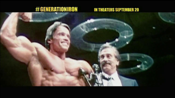 Generation Iron - 22 commercial airings