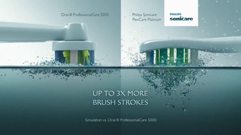Sonicare FlexCare Platinum TV Spot, 'Innovation' - Thumbnail 6