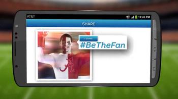 AT&T TV Spot, '#BeTheFan: Fan Timeout' - Thumbnail 7