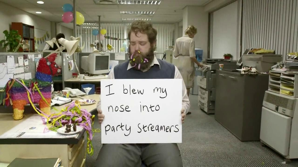 Kleenex TV Commercial, 'Confessions'
