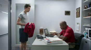 FedEx Delivery Manager TV Spot, '6th String Quarterback' - 14 commercial airings