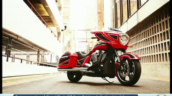 2014 Victory Cross Country Motorcycles TV Spot, 'Ride of Your Life' - Thumbnail 1