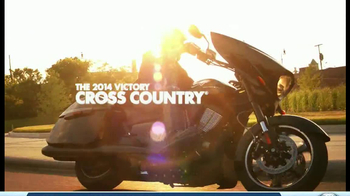2014 Victory Cross Country Motorcycles TV Spot, 'Ride of Your Life' - Thumbnail 10