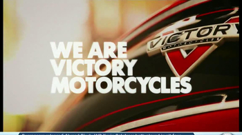 2014 Victory Cross Country Motorcycles TV Spot, 'Ride of Your Life' - Thumbnail 2