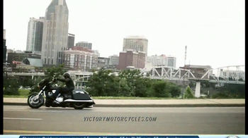 2014 Victory Cross Country Motorcycles TV Spot, 'Ride of Your Life' - Thumbnail 4