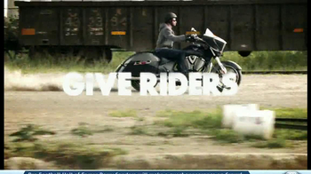 2014 Victory Cross Country Motorcycles TV Spot, 'Ride of Your Life' - Thumbnail 7