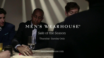 Men's Wearhouse Sale of the Season TV Spot - 509 commercial airings